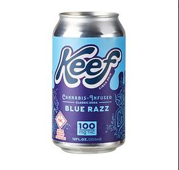 Keef Classic Blue Razz Soda