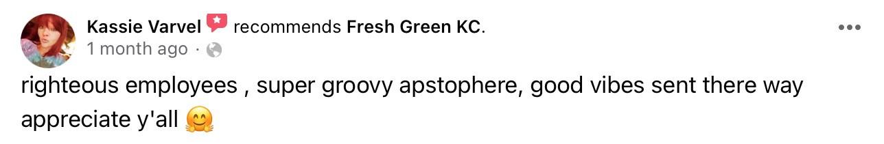 fresh.green dispensary reviews