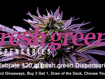 420 is Finally Here, Gift Card Giveaways, Buy 3 Get 1, Draw of the Deck, Choose Your Sale!