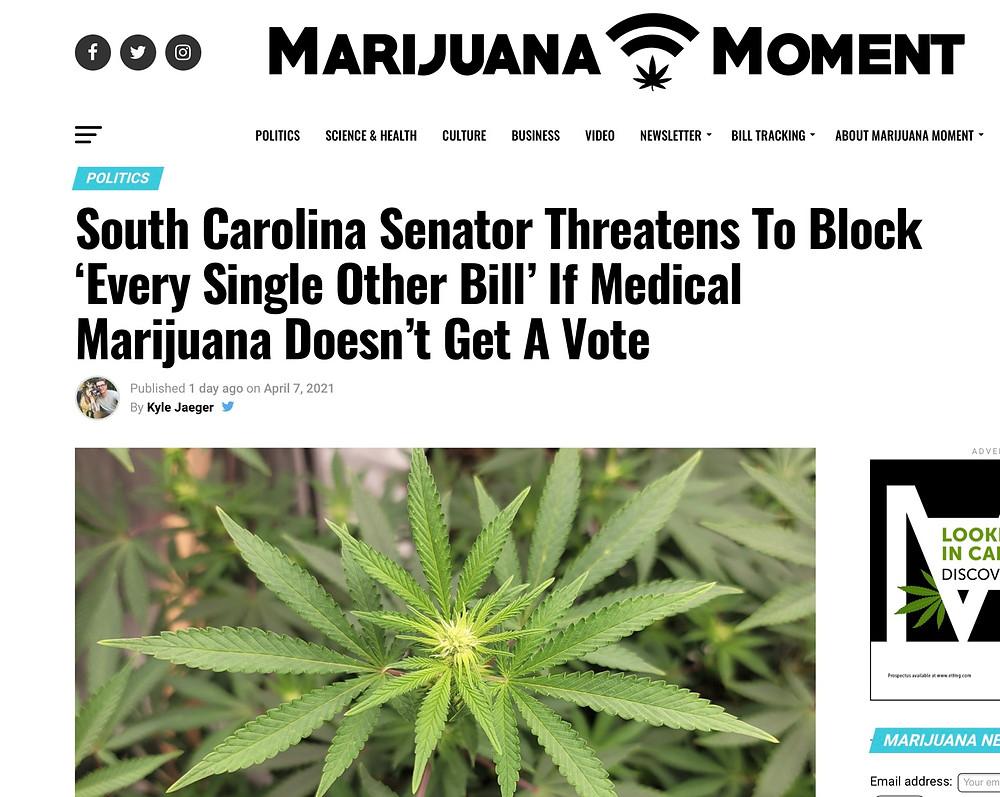South Carolina Compassionate Care Act 2021