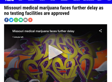 MMJ in KC: fresh.green Dispensary Owners Speak with Fox News - Inspections and Openings