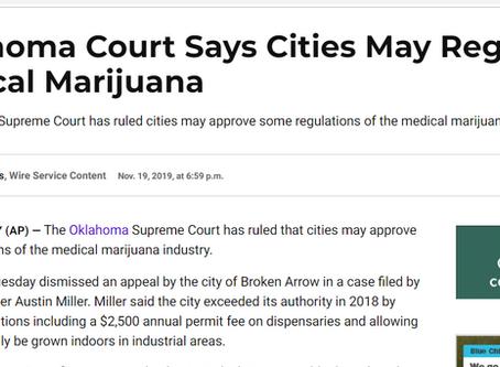 Oklahoma: Cities May Regulate Medical Marijuana via Planning and Zoning