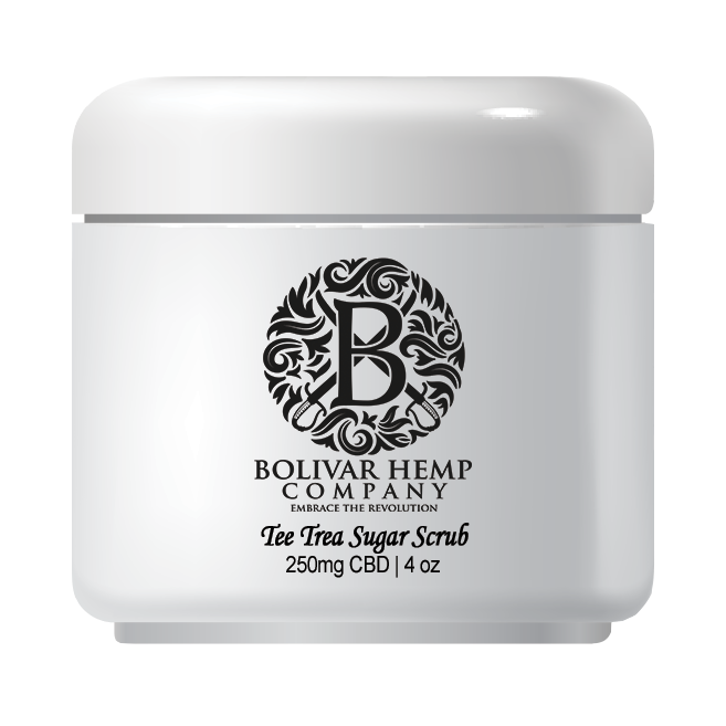 Tea Tree Hemp Sugar Scrub