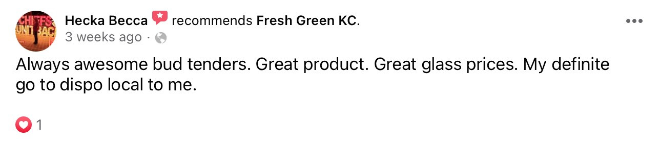 fresh.green dispensary reviews