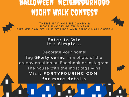 Wasaga Beach Halloween Haunt Night Contest is on Now!
