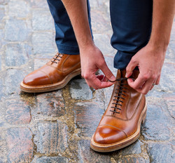 Barker Shoes cobbles