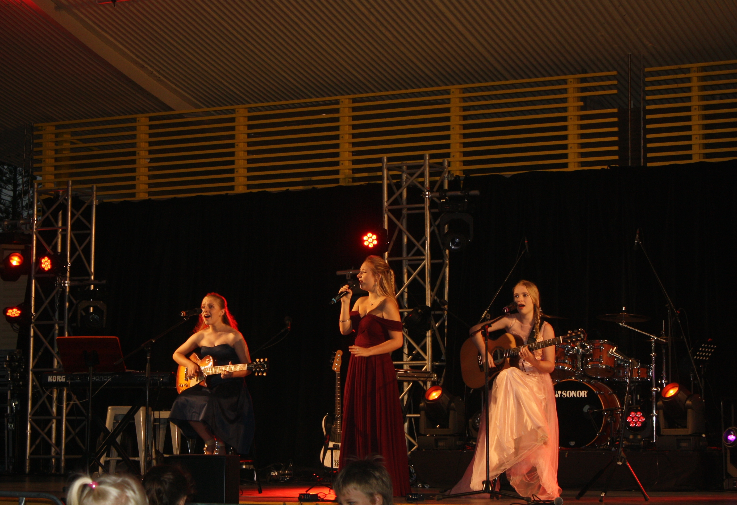 Phenix on Stage Carols Kings Beach