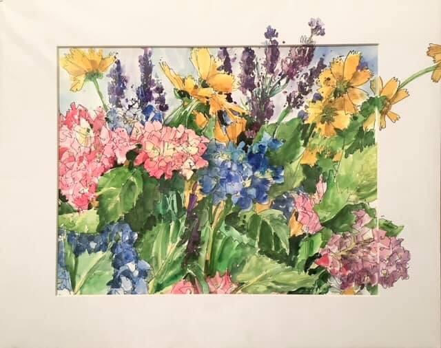 Fleurs en liberté