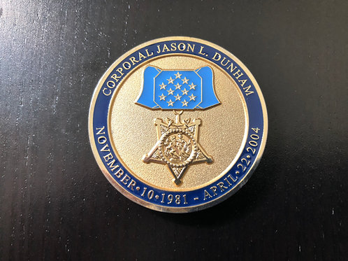 Dunham | Medal of Honor Coin