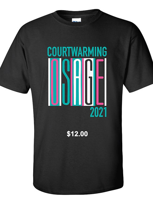 School of the Osage 2021 Courtwarming T Shirts