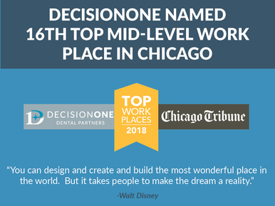 DecisionOne named 16th Top Mid-Level Workplace in Chicago