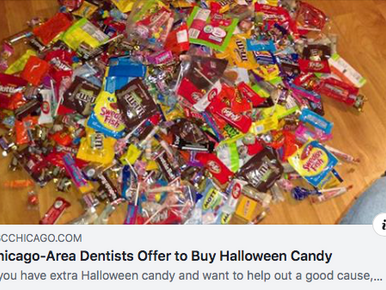 Chicago-Area Dentists Offer to Buy Back Halloween Candy for Troops