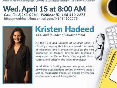 Morning Mindset with Kristen Hadeed