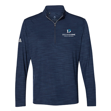 Men's Lightweight Melange Quarter-Zip Pulllover