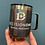 Thumbnail: Black Rainbow Glitter Mug