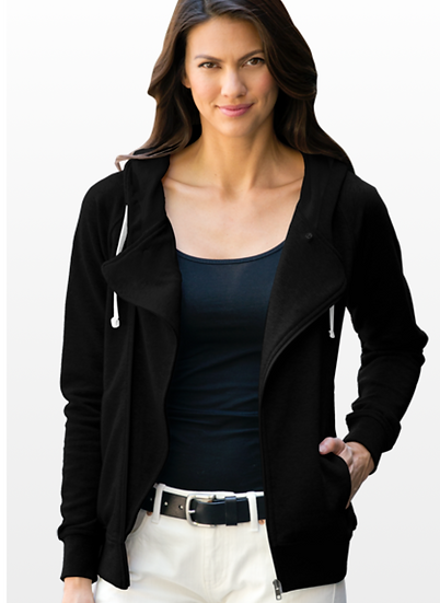 Women's Fleece Moto Jacket