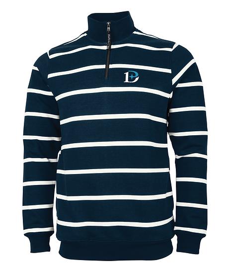 Crosswind Quarter Zip Print Unisex Sweatshirt