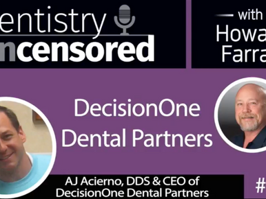 Dr. AJ Acierno interviewed on Dentaltown Founder's Podcast