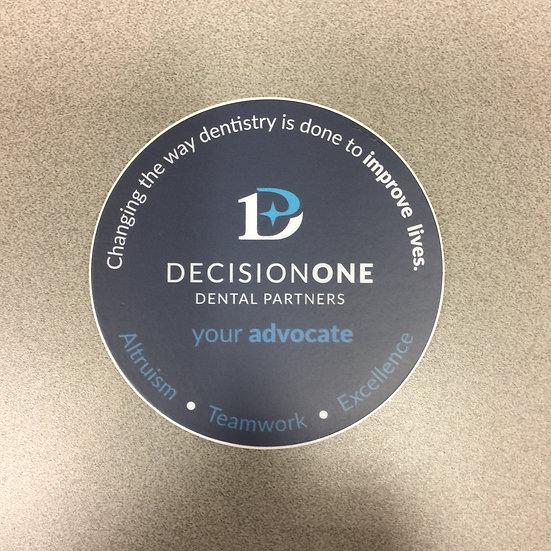 Vision Values & Promise Sticker