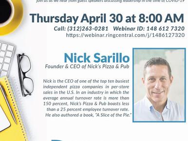 Morning Mindset with Nick Sarillo