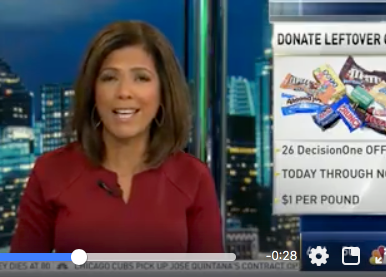 NBC Chicago Sharing Candy Buyback News