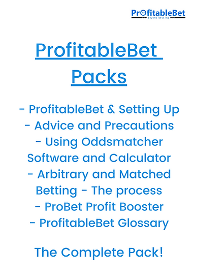 ProfitableBet Pack: Arbitrary and Matched Betting
