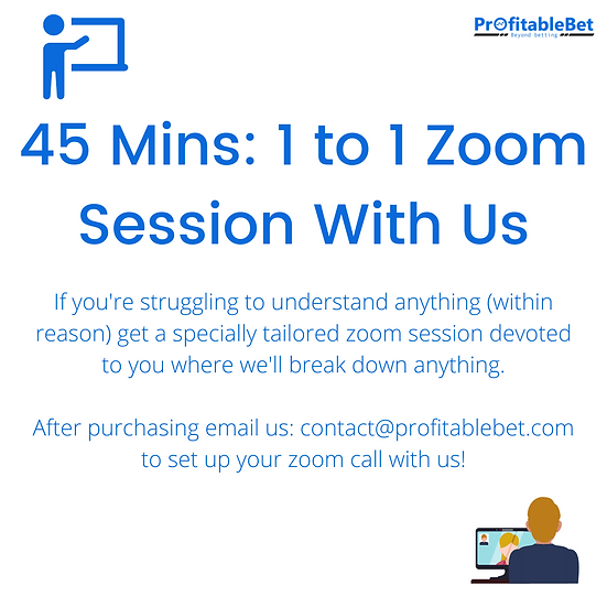 45 Minutes 1 to 1 Session With Us