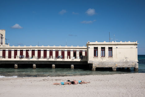 Mondello beach, 2017