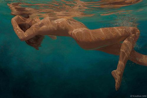 "Sea of Joy ~ Gicle'e on canvas 16x24"""