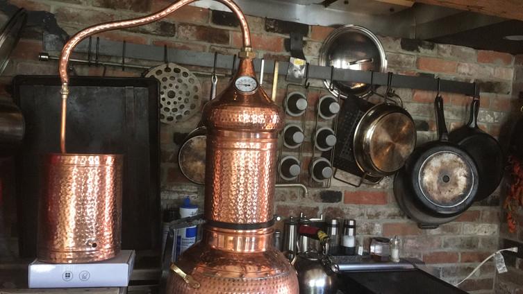 Hemlock Distillation, Vermont 2019