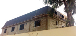 Colocando techo