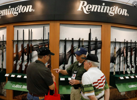 Remington once again files for bankruptcy