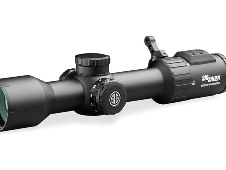 Sig Sauer Electro-Optics SIERRA6BDX Riflescope Now Shipping
