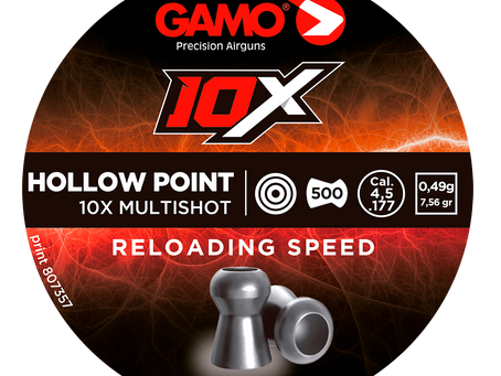 New 10X Hollow Point Pellet from Gamo