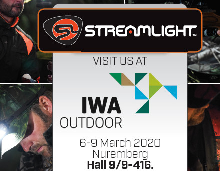 STREAMLIGHT TO EXHIBIT NEW PRODUCTS AT IWA OUTDOORCLASSICS 2020