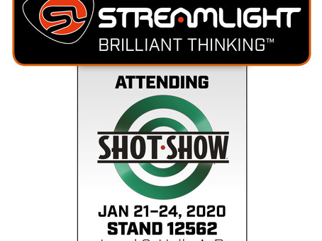 STREAMLIGHT TO LIGHT UP SHOT SHOW 2020