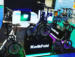 KwikFold at the London Bike Show 2018