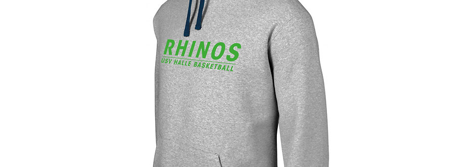 Hoodie Rhinos Basketball grey contrast