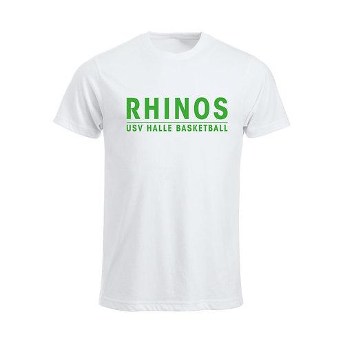 Junior T-Shirt Rhinos Basketball white