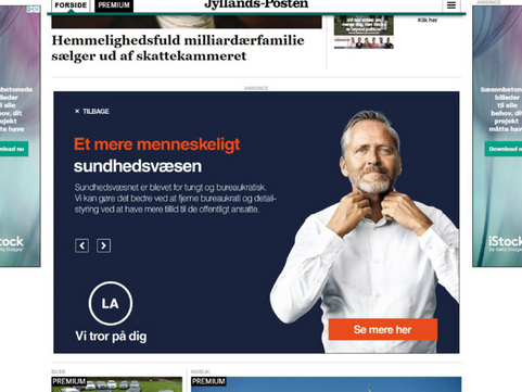 Digitale Medier & Marketing: Liberal Alliance