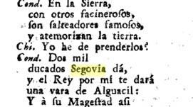 EL TEJEDOR DE SEGOVIA, RUIZ DE ALARCON. CURIOSIDADES LITERARIAS