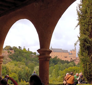 Segovia, alcázar, el Parral