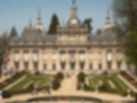 Fachada palacio de la Granja - guía de turismo en Segovia
