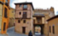 Plaza del Socorro. Visitas guiadas en Segovia. Románico segoviano