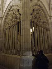 Claustro de la catedral de Segovia. CONOCE SEGOVIA