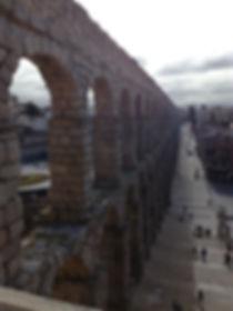 Acueducto de Segovia desde el postigo del consuelo