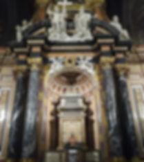 Reliquias de san Frutos en el trascoro de la catedal de Segovia. SERVICIOS TURISTICOS DIVERSOS