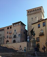 Segovia. Plaza de las sirenas