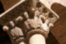 Capitel iglesia de san Martín. Visitas guiadas en Segovia