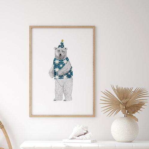 Party Bear Print